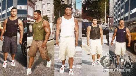 GTA V Franklin Clinton para GTA 4 segundo screenshot
