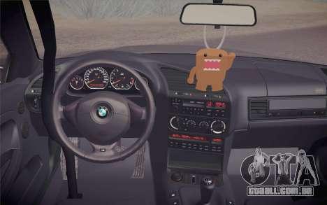 BMW M3 E36 Angle Killer para GTA San Andreas vista direita