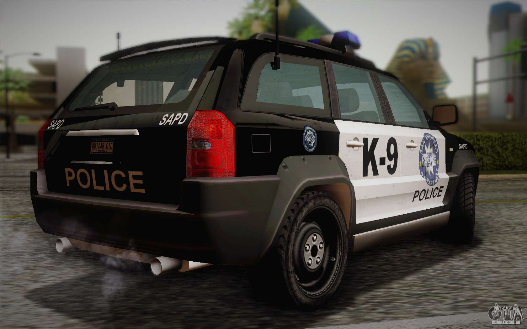 nfs suv rhino light police car 2004 para gta san andreas. Black Bedroom Furniture Sets. Home Design Ideas
