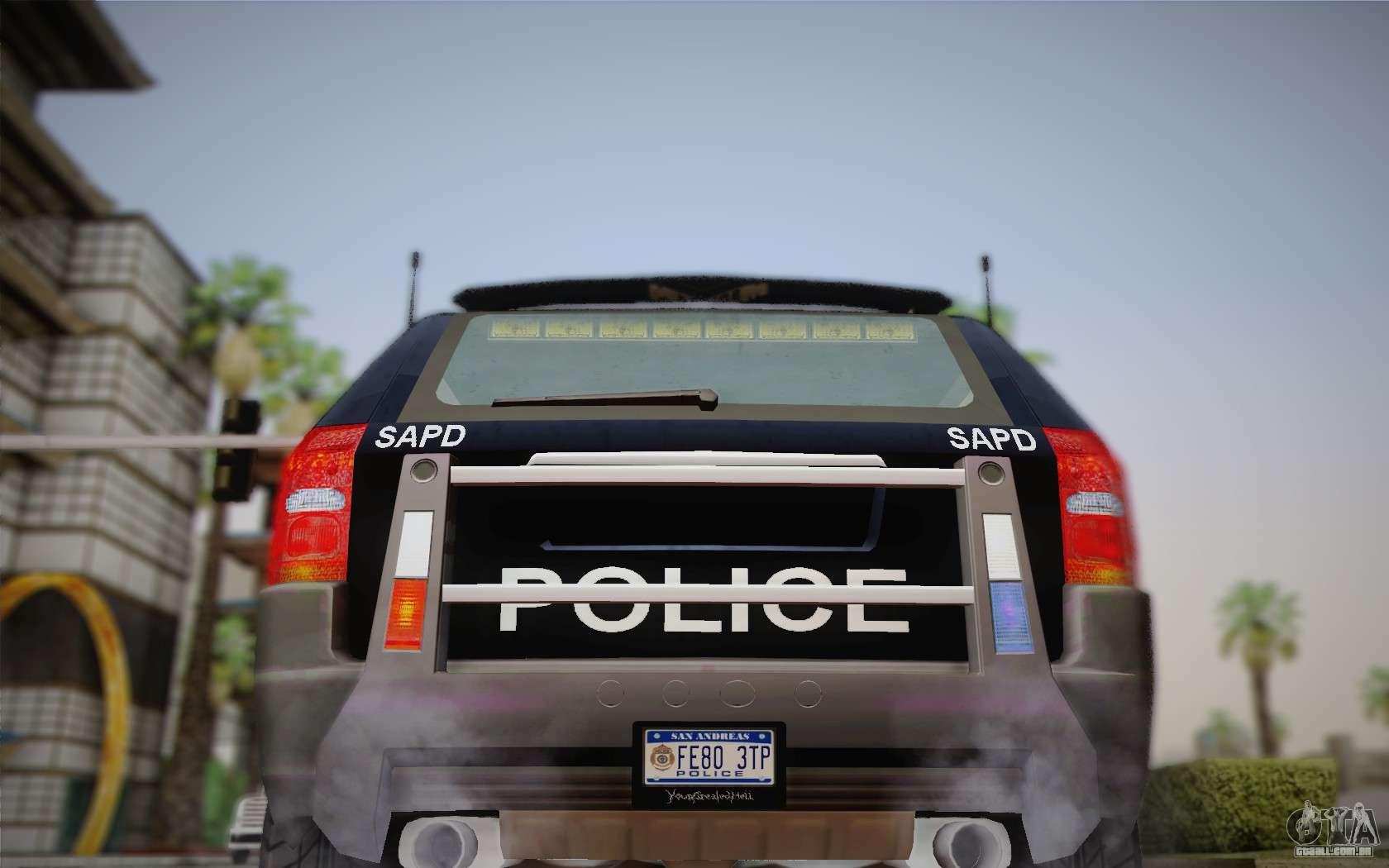 nfs suv rhino heavy police car 2004 para gta san andreas. Black Bedroom Furniture Sets. Home Design Ideas
