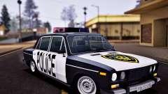 Polícia de 2106 VAZ