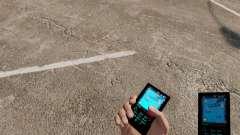 O tema para o telefone Aqua Azul v2.0