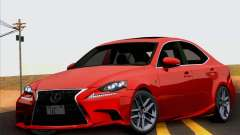 Lexus IS350 2014 F-SPORT para GTA San Andreas