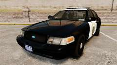 Ford Crown Victoria 2008 LCHP [ELS] para GTA 4