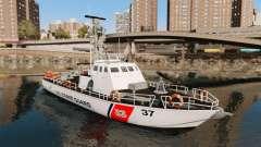 Canhoneira U.S. Coastguard para GTA 4