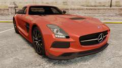 Mercedes-Benz SLS AMG 2014 Black Series купе para GTA 4