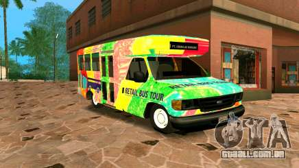 Ford E350 Shuttle Bus para GTA San Andreas