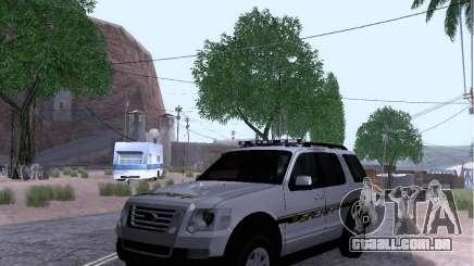 Ford Explorer Sheriff 2010 para GTA San Andreas