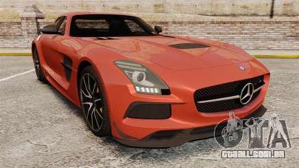 Mercedes-Benz SLS AMG 2014 Black Series купе para GTA 4