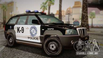 NFS Suv Rhino Light - Police car 2004 para GTA San Andreas