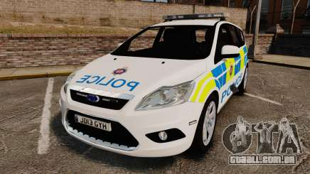 Ford Focus Estate British Police [ELS] para GTA 4