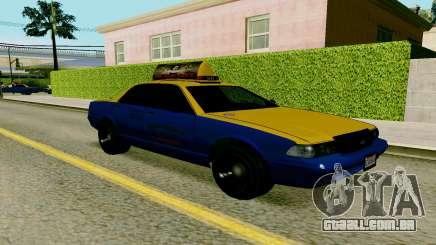 GTA V Taxi para GTA San Andreas