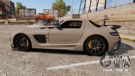 Mercedes-Benz SLS 2014 AMG NFS Stripes para GTA 4 esquerda vista