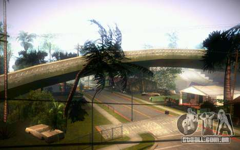 New Grove Street para GTA San Andreas por diante tela