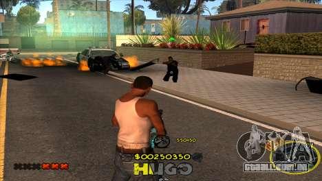 C-HUD Vagos by Hugo para GTA San Andreas por diante tela