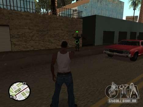 ProAim para GTA San Andreas segunda tela