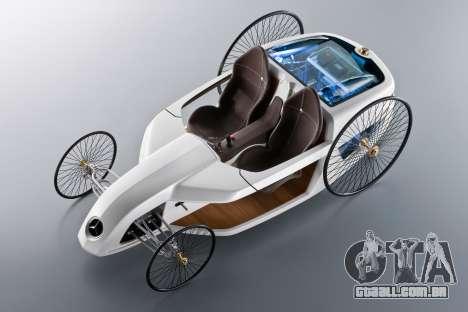 Arranque telas Mercedes-Benz F-CELL Roadster para GTA 4 sétima tela