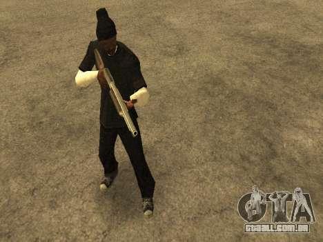 Beta Sweet skin para GTA San Andreas sexta tela