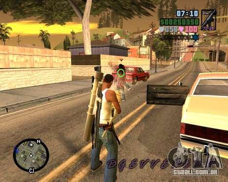 C-HUD Vice Sity para GTA San Andreas