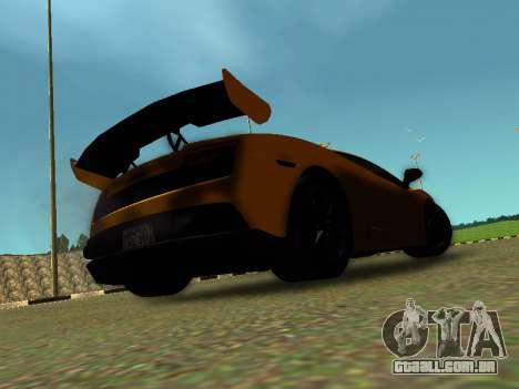 Lamborghini Gallardo Super Trofeo Stradale para GTA San Andreas esquerda vista