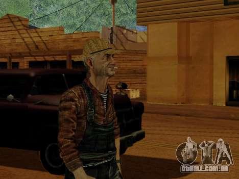 Agricultor ou alterada e completada para GTA San Andreas oitavo tela