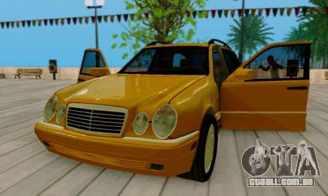 Mercedes-Benz E320 Wagon para vista lateral GTA San Andreas