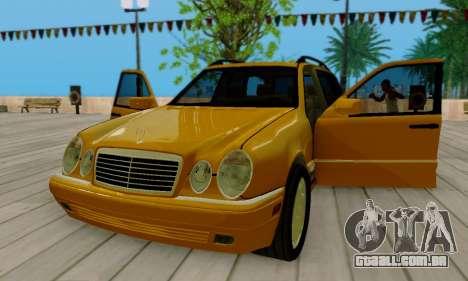 Mercedes-Benz E320 Wagon para vista lateral GTA San Andreas