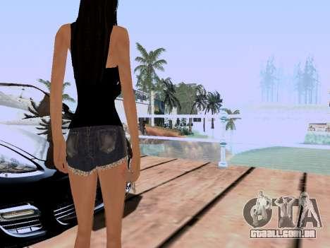 Nova ilha V2.0 para GTA San Andreas por diante tela