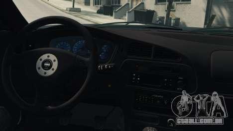Mitsubishi Galant8 VR-4 para GTA 4 vista direita