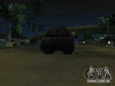 PzKpfw VII Maus para GTA San Andreas vista direita