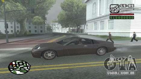 Weather Menu para GTA San Andreas sexta tela