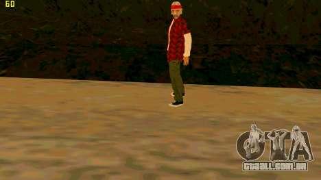 A nova textura Verdade para GTA San Andreas terceira tela