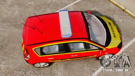 Renault Scenic Medicin v2.0 [ELS] para GTA 4 vista direita