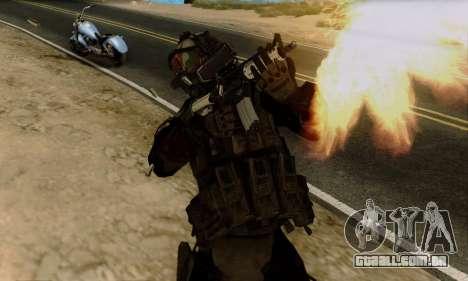 Kopassus Skin 2 para GTA San Andreas terceira tela