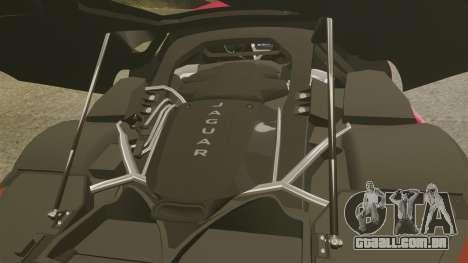 Jaguar C-X75 [EPM] para GTA 4 vista interior