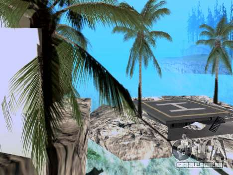 Nova ilha V2.0 para GTA San Andreas segunda tela