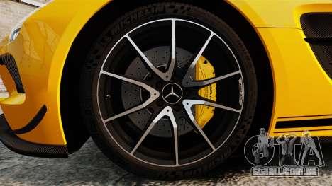 Mercedes-Benz SLS 2014 AMG Performance Studio para GTA 4 vista de volta