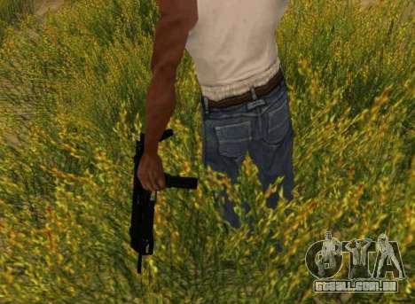 MP7 para GTA San Andreas quinto tela