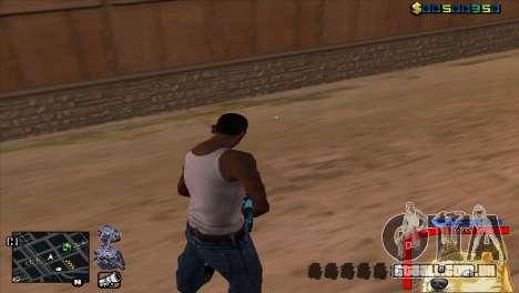C-HUD Cão WOW para GTA San Andreas segunda tela