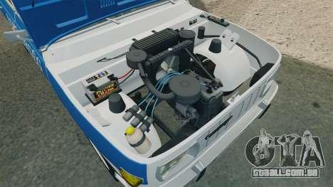 Wartburg 353w Deluxe Hungarian Police para GTA 4 vista de volta