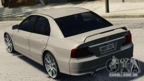 Mitsubishi Galant8 VR-4 para GTA 4 esquerda vista