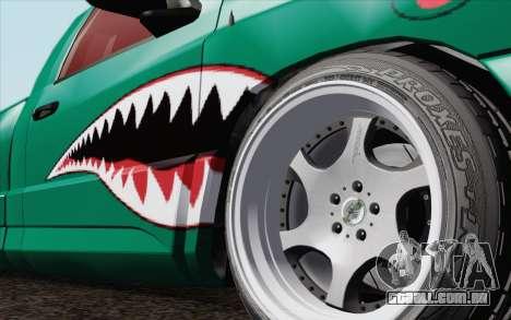 Dodge Ram SRT10 Shark para GTA San Andreas traseira esquerda vista