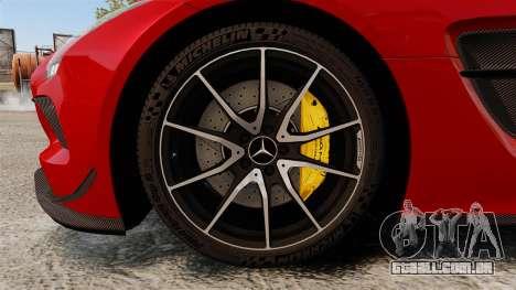 Mercedes-Benz SLS 2014 AMG GT Final Edition para GTA 4 vista de volta