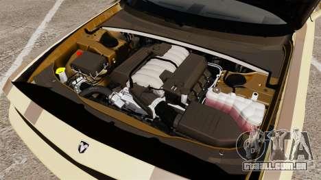 Dodge Challenger SRT8 2009 [EPM] APB Reloaded para GTA 4 vista interior