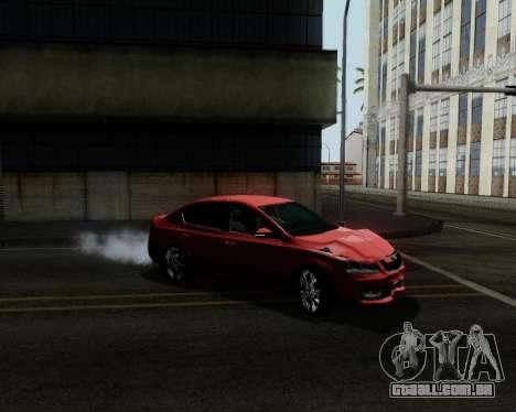Skoda Octavia A7 para as rodas de GTA San Andreas