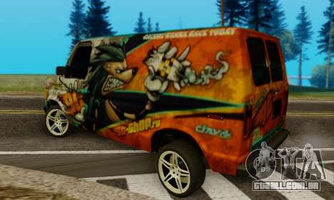 Ford E-150 GT-Shop para GTA San Andreas esquerda vista