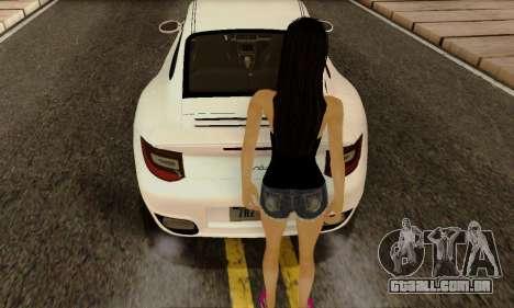 Jack Daniels Girl Skin para GTA San Andreas terceira tela