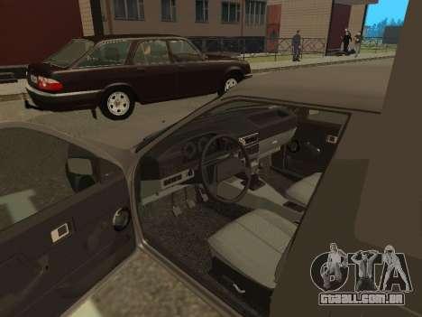 IZH 2717-90 para GTA San Andreas vista traseira