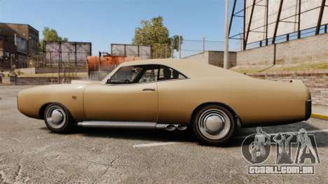 Imponte Dukes new wheels para GTA 4 esquerda vista