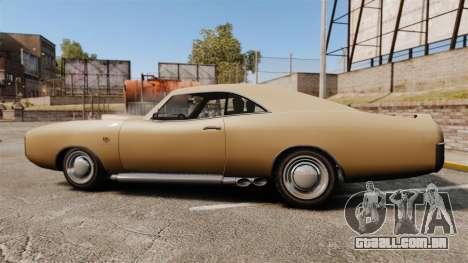 Imponte Dukes new wheels para GTA 4 esquerda vista